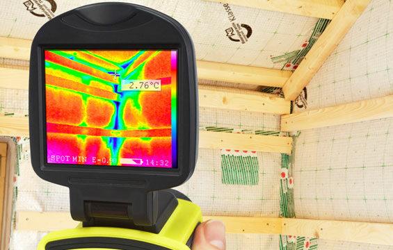 Thermografie im neuen Haus durch JaWo Putzbrunn
