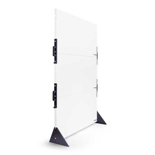 Wandtrocknung durch Infrarotplattenheizung JaWo Putzprunn